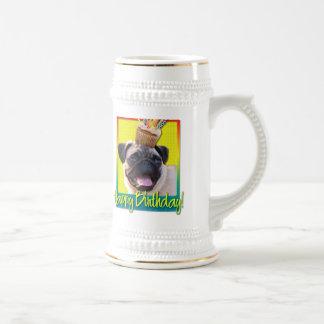Birthday Cupcake - Pug Mugs