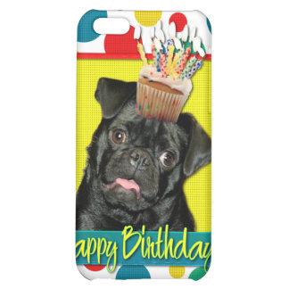 Birthday Cupcake - Pug - Ruffy Cover For iPhone 5C