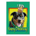 Birthday Cupcake - Rottweiler - SambaParTi