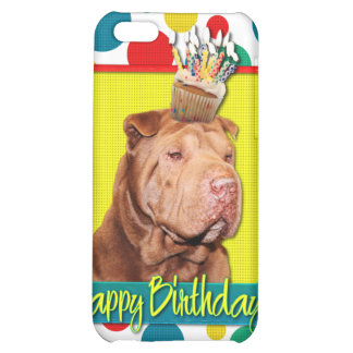 Birthday Cupcake - Shar Pei - Lucky iPhone 5C Cover