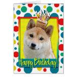 Birthday Cupcake - Shiba Inu