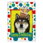 Birthday Cupcake - Shiba Inu - Yasha