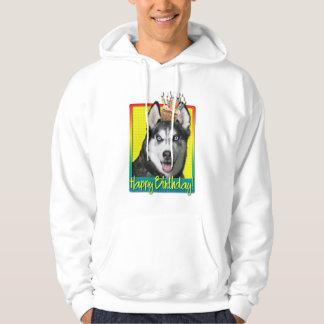 Birthday Cupcake - Siberian Husky Sweatshirts
