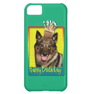 Birthday Cupcake - Vallhund iPhone 5C Cover