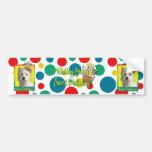 Birthday Cupcake - West Highland Terrier Bumper Sticker