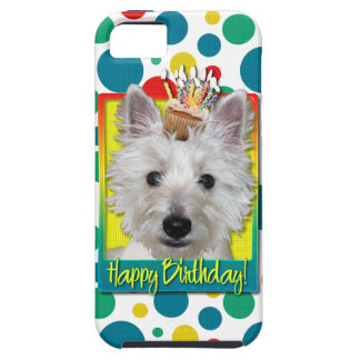 Birthday Cupcake - Westie - Tank Case For The iPhone 5