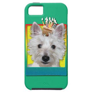 Birthday Cupcake - Westie - Tank Tough iPhone 5 Case
