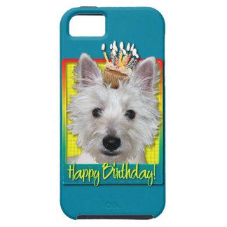 Birthday Cupcake - Westie - Tank iPhone 5 Cover