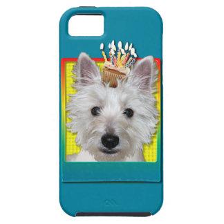 Birthday Cupcake - Westie - Tank iPhone 5 Case