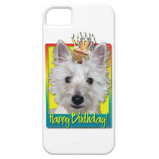 Birthday Cupcake - Westie - Tank Barely There iPhone 5 Case