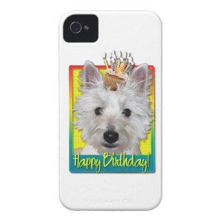 Birthday Cupcake - Westie - Tank iPhone 4 Cover