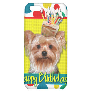 Birthday Cupcake - Yorkshire Terrier Case For iPhone 5C