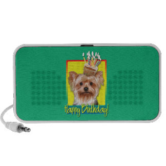 Birthday Cupcake - Yorkshire Terrier Mp3 Speaker