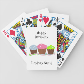 Birthday Cupcakes Poker Deck