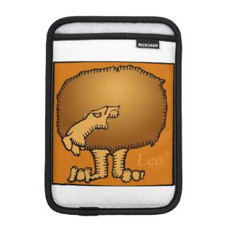 Birthday Custom Zodiac Sign Leo R Sleeve iPad Mini Sleeves