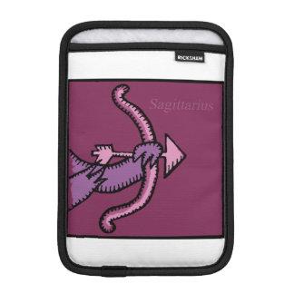 Birthday Custom Zodiac Sign Sagittarius R Sleeve iPad Mini Sleeve