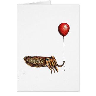 Birthday Cuttlefish Card
