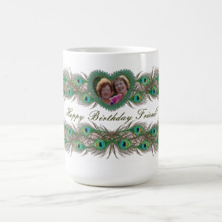Birthday decorative photo banner mugs for friends