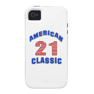 Birthday Design 21 iPhone 4/4S Covers