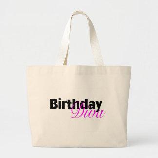 Birthday Diva (3) Jumbo Tote Bag