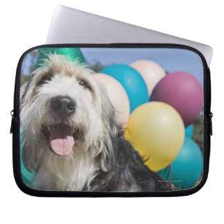 Birthday dog laptop sleeve
