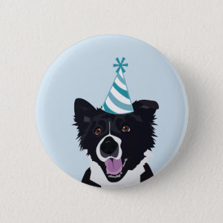 Birthday Dog Pin