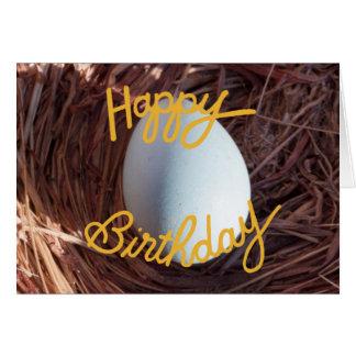 Birthday Egg Card