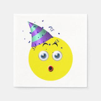 Birthday Emoji Paper Serviettes