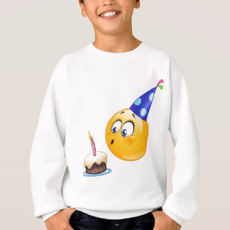 birthday emoji sweatshirt