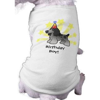 Birthday English Cocker Spaniel Sleeveless Dog Shirt