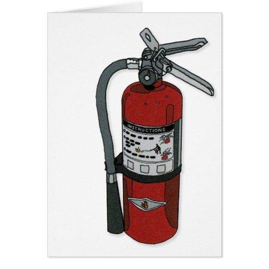 """birthday extinguisher"" greeting card"