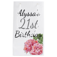 birthday favour bag