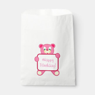 Birthday Favour Bags