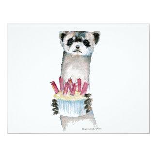 Birthday Ferret Card