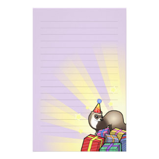 Birthday Ferret Stationery