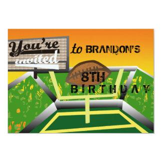 Birthday football card