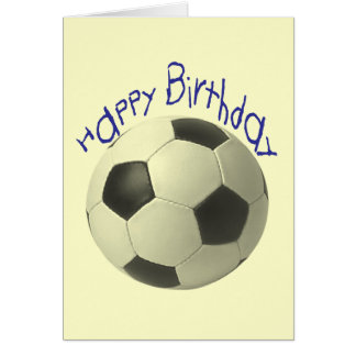 Birthday Football Gifts Card