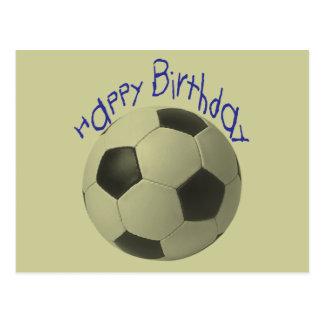 Birthday Football Gifts Postcard