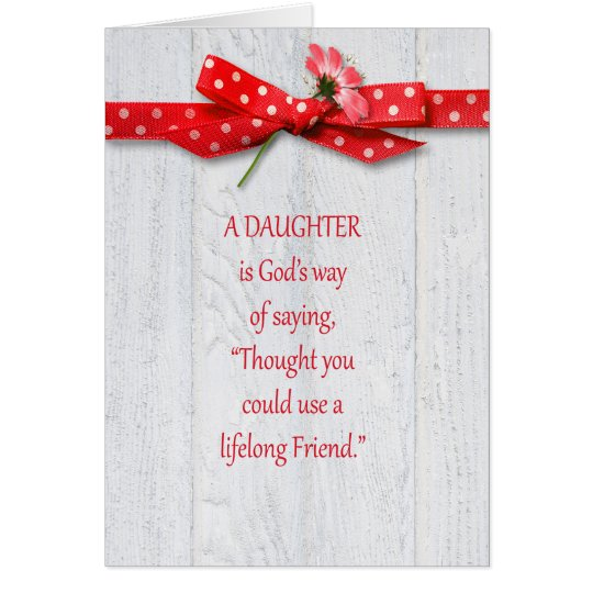 Birthday for Daughter Card