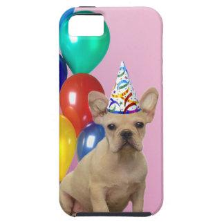 Birthday French Bulldog iPhone 5 Case