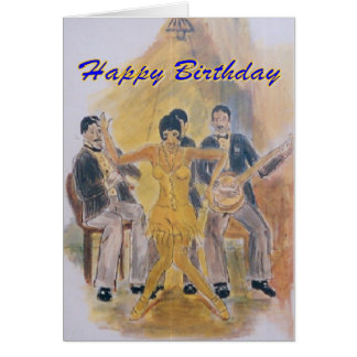 Birthday G Card Roaring Twenties