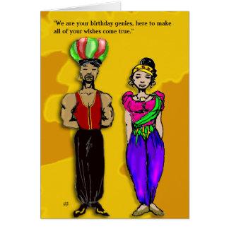 Birthday Genies Card