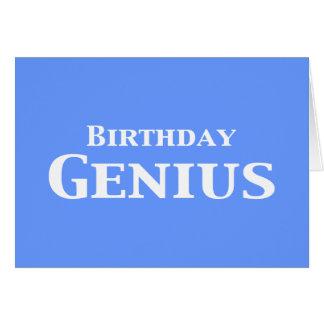Birthday Genius Gifts Card