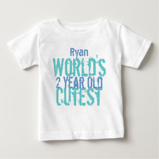 Birthday Gift World's Cutest 2 Two Year Old T Shirt