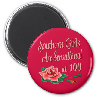 Birthday Gifts for Southern Girls 6 Cm Round Magnet