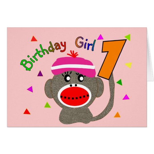 "Birthday Girl ""1"" year old Card"