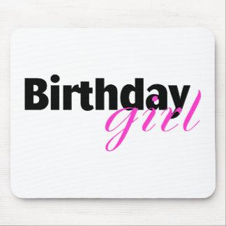 Birthday girl (2) mouse pad
