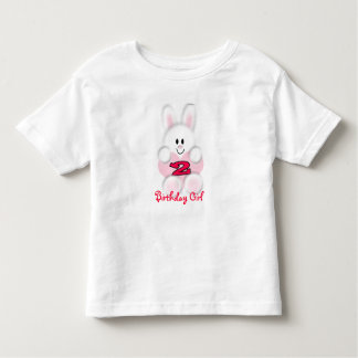 Birthday Girl 2 Year Old Girl Toddler T-Shirt