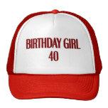 Birthday Girl 40 Hat