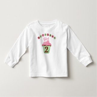 Birthday Girl Age 2 Toddler T-Shirt